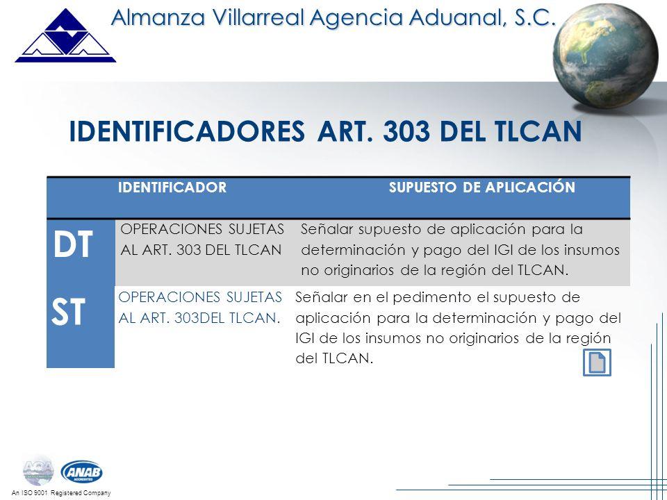 IDENTIFICADORES ART. 303 DEL TLCAN