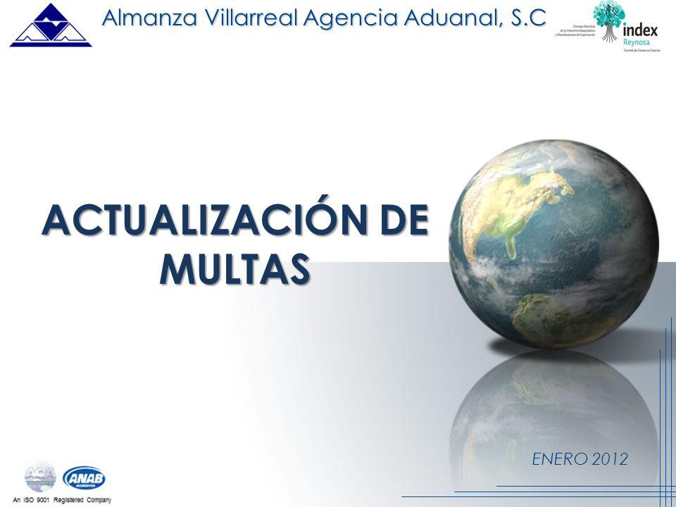ACTUALIZACIÓN DE MULTAS