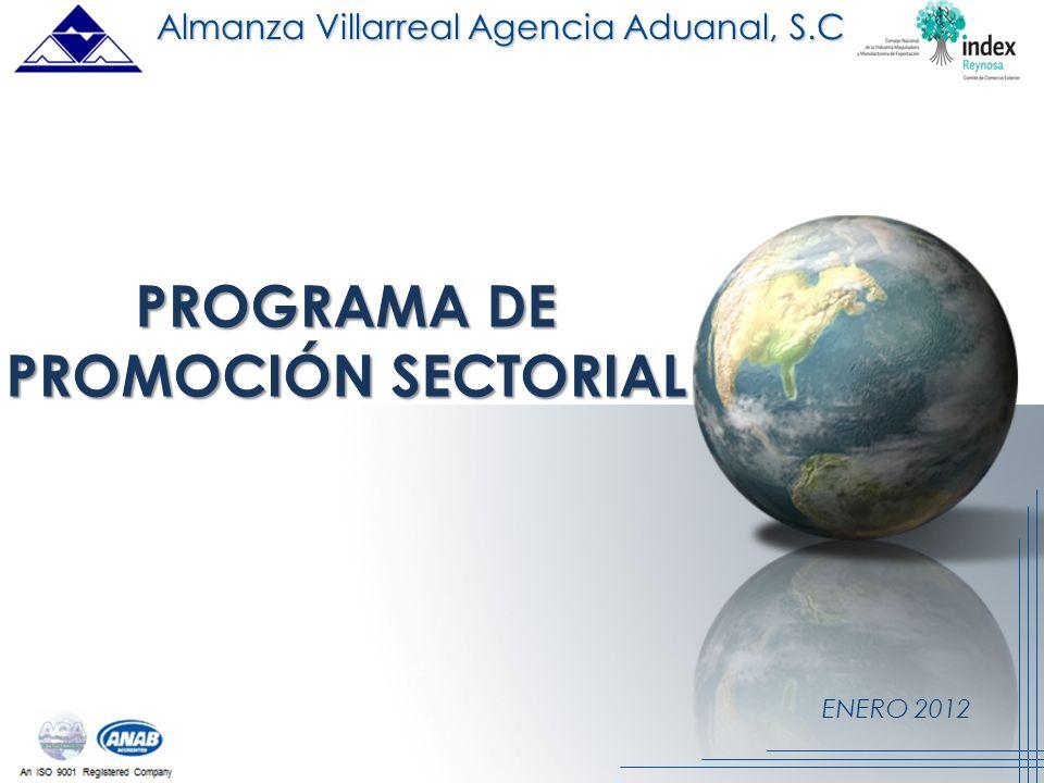 PROGRAMA DE PROMOCIÓN SECTORIAL