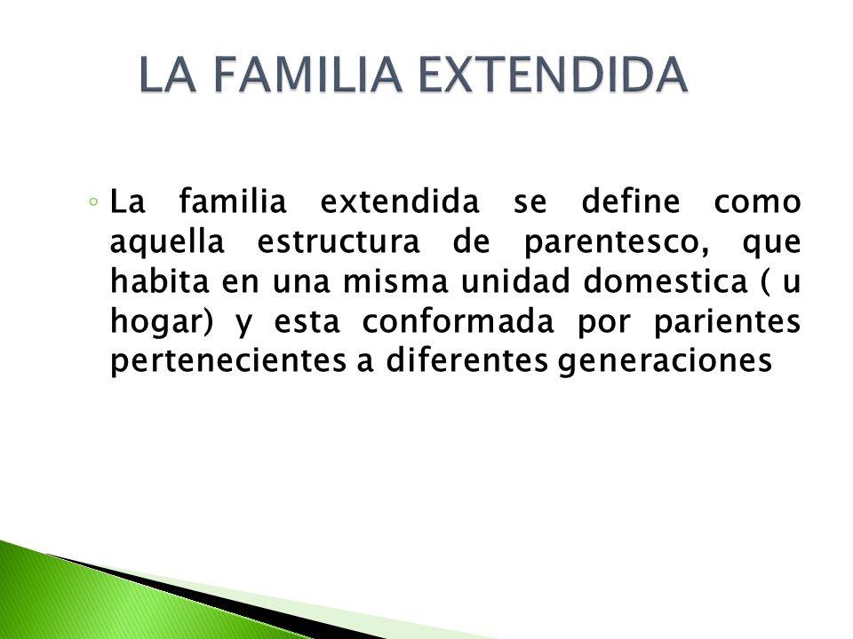 LA FAMILIA EXTENDIDA