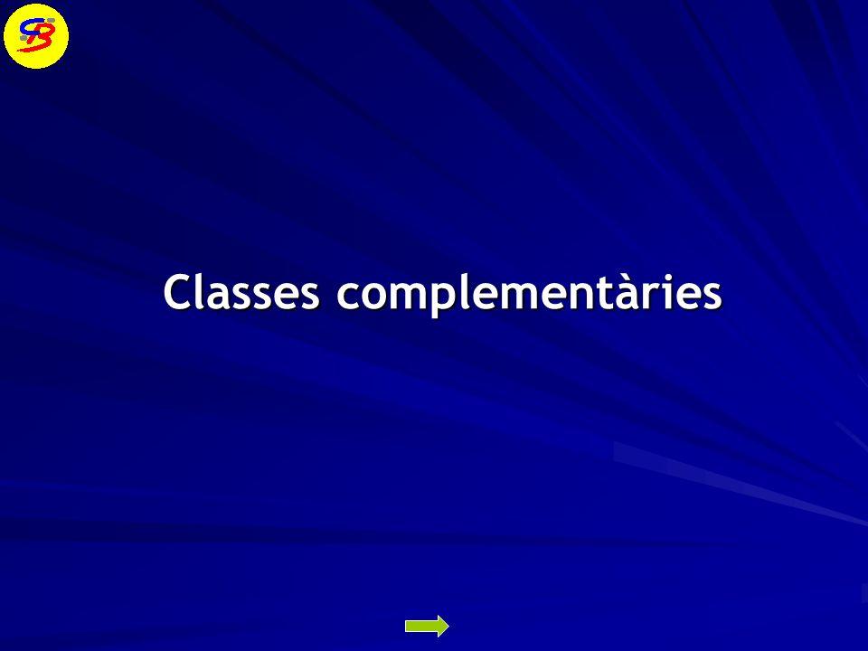 Classes complementàries