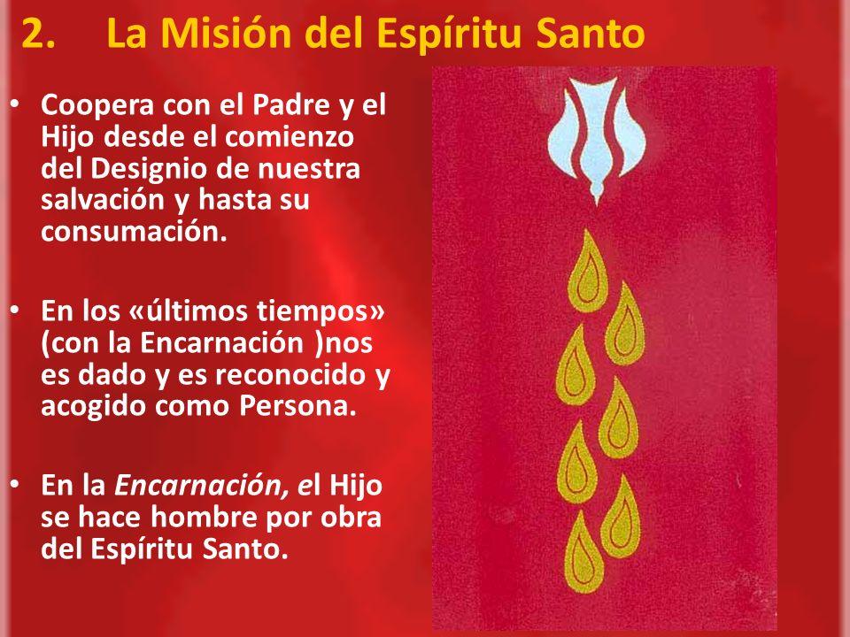 2. La Misión del Espíritu Santo