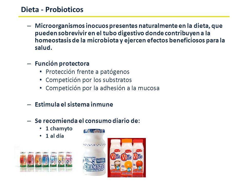 Dieta - Probioticos