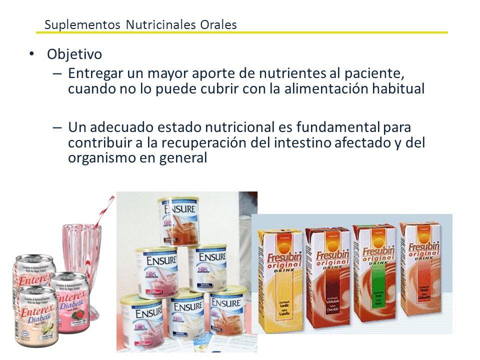 Suplementos Nutricinales Orales