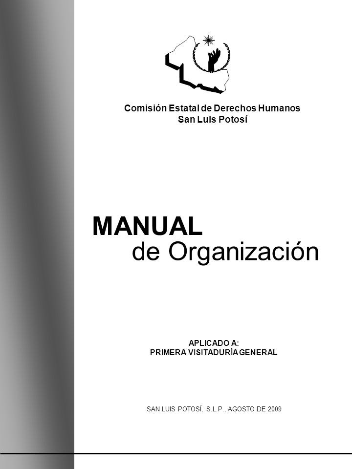 Comisión Estatal de Derechos Humanos PRIMERA VISITADURÍA GENERAL