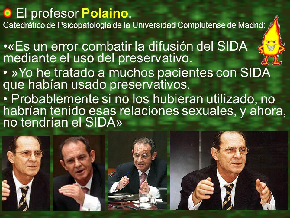 El profesor Polaino, Catedrático de Psicopatología de la Universidad Complutense de Madrid:
