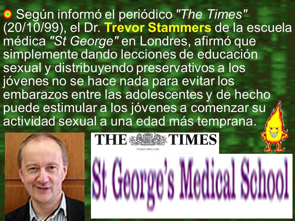 Según informó el periódico The Times (20/10/99), el Dr