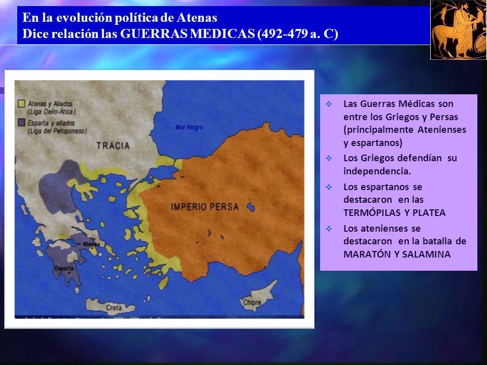 En la evolución política de Atenas