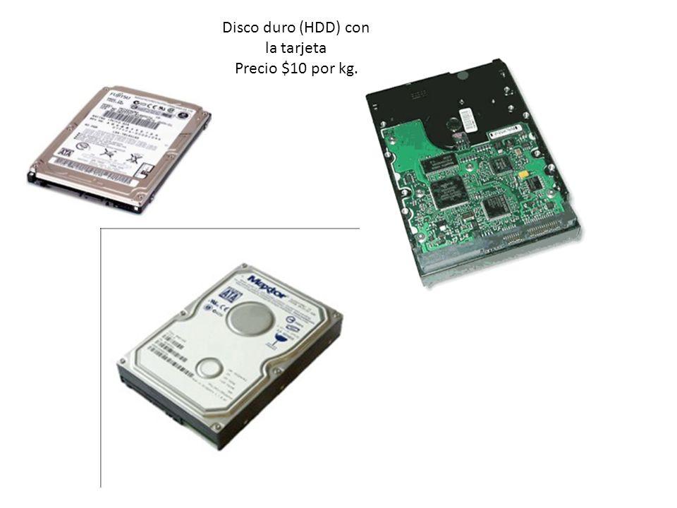 Disco duro (HDD) con la tarjeta