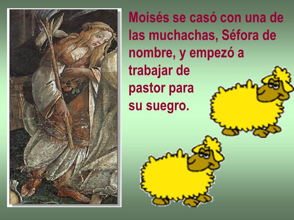 Moisés se casó con una de