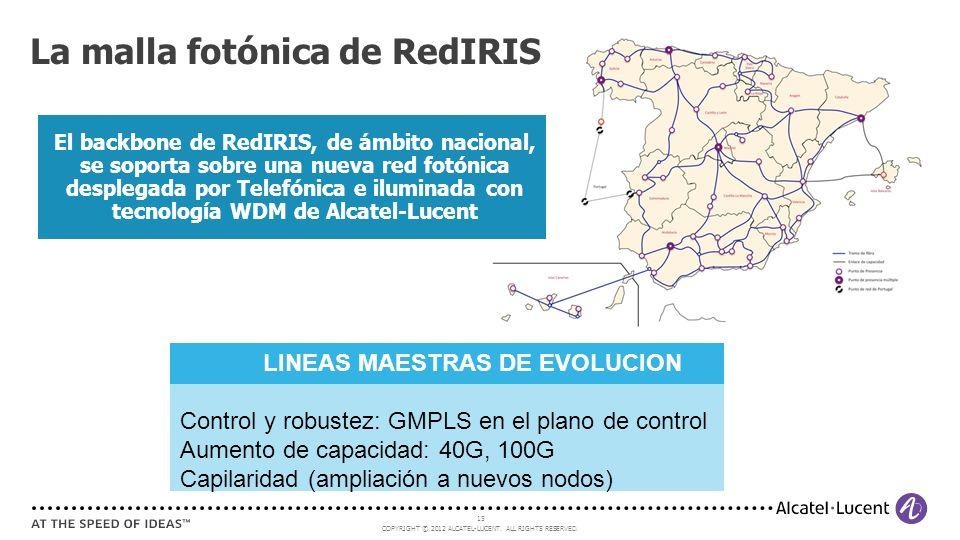 La malla fotónica de RedIRIS