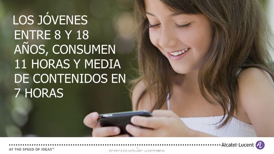 LOS JÓVENES ENTRE 8 Y 18 AÑOS, CONSUMEN 11 HORAS Y MEDIA DE CONTENIDOS EN 7 HORAS