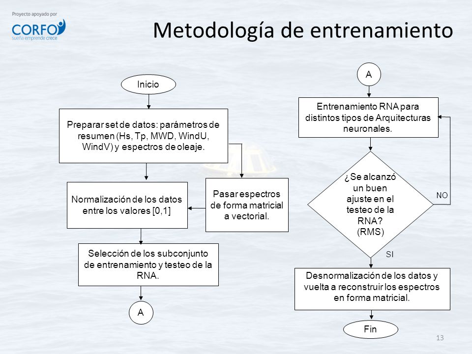 Metodología de entrenamiento