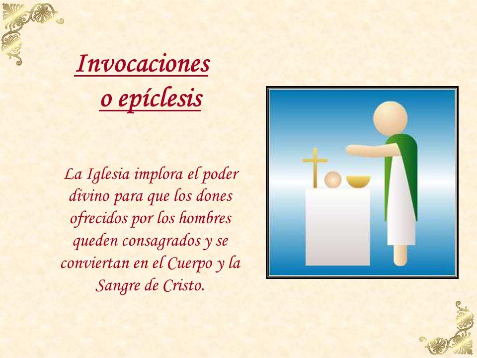 Invocaciones o epíclesis
