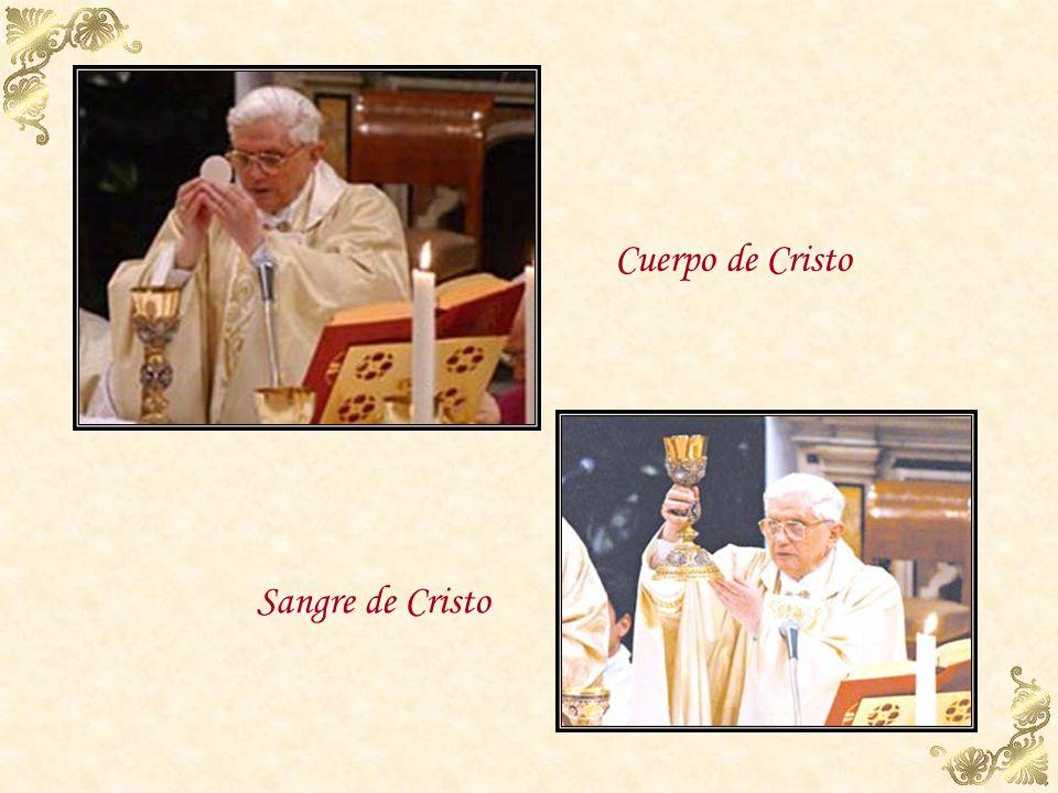 Cuerpo de Cristo Sangre de Cristo