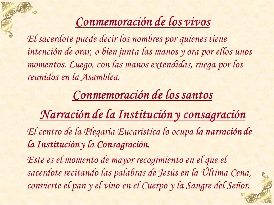 Conmemoración de los santos