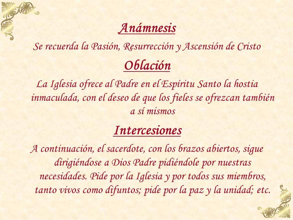 Se recuerda la Pasión, Resurrección y Ascensión de Cristo