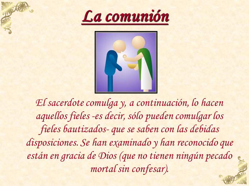 La comunión