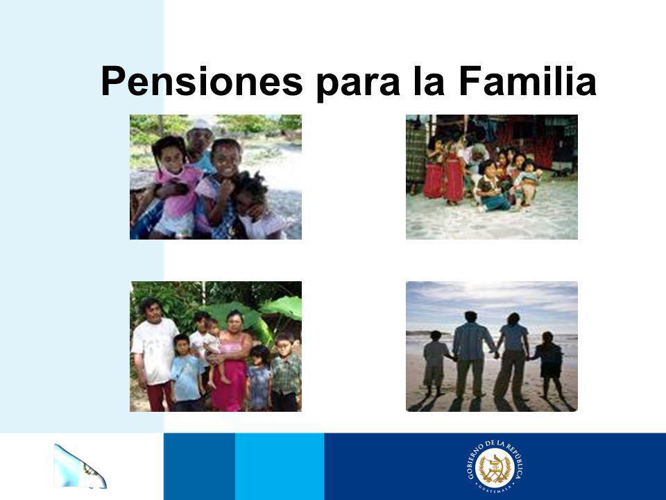 Pensiones para la Familia