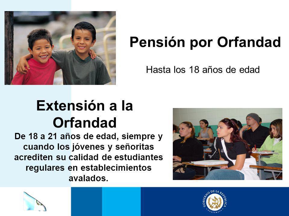 Extensión a la Orfandad