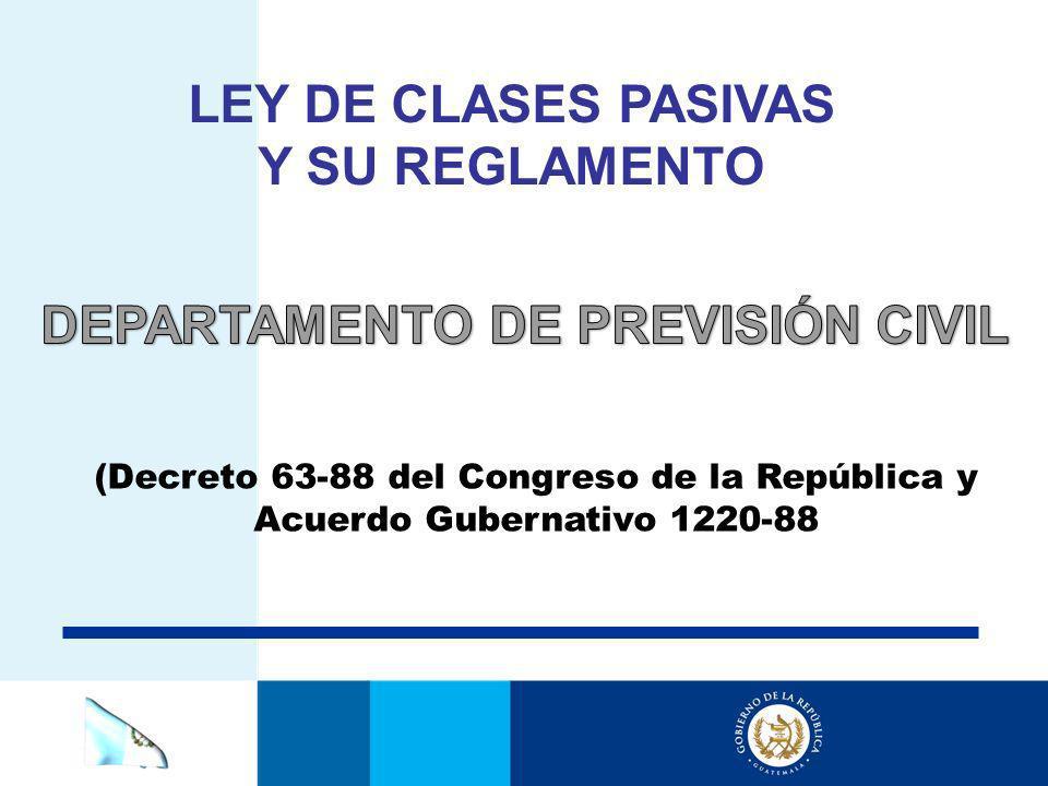 DEPARTAMENTO DE PREVISIÓN CIVIL