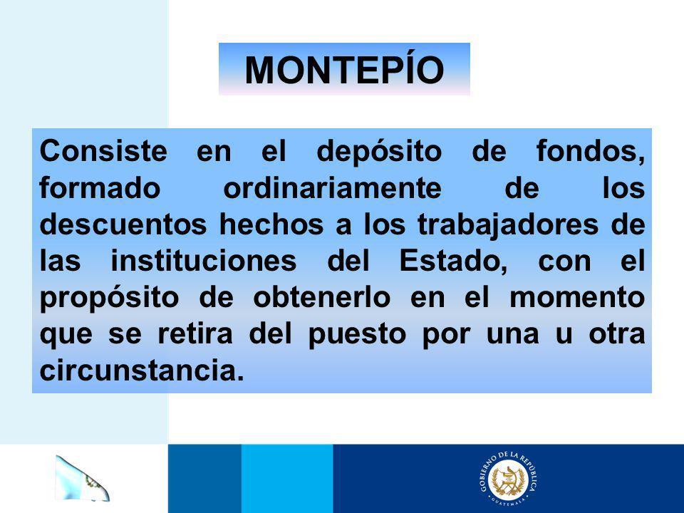 MONTEPÍO