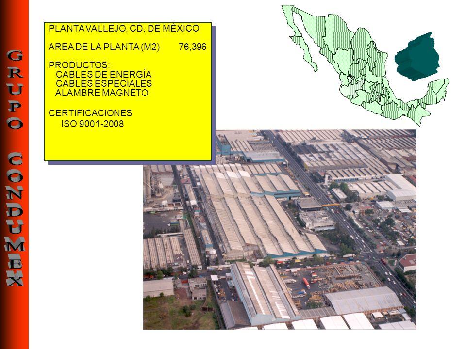 PLANTA VALLEJO, CD. DE MÉXICO