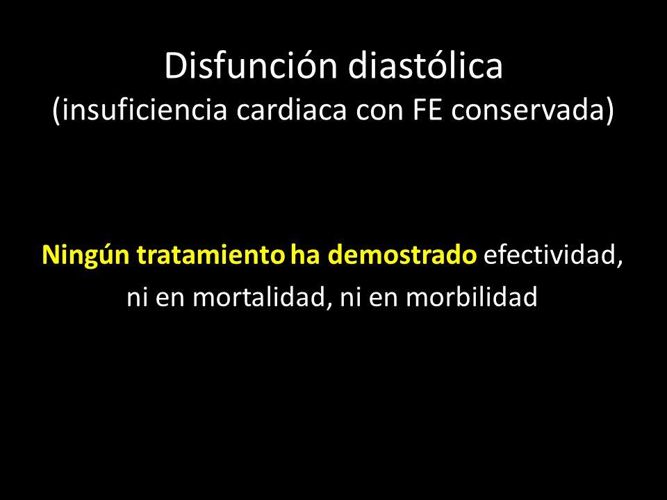 Disfunción diastólica