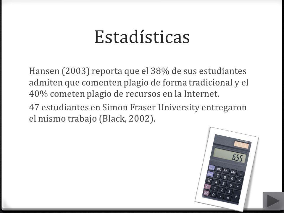 Estadísticas