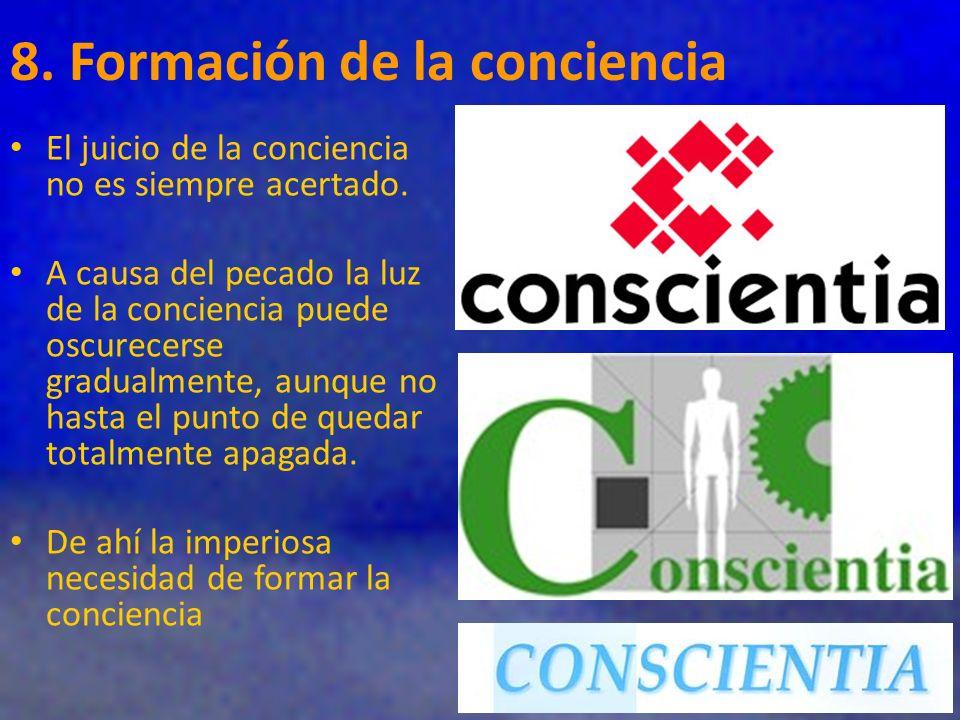 8. Formación de la conciencia