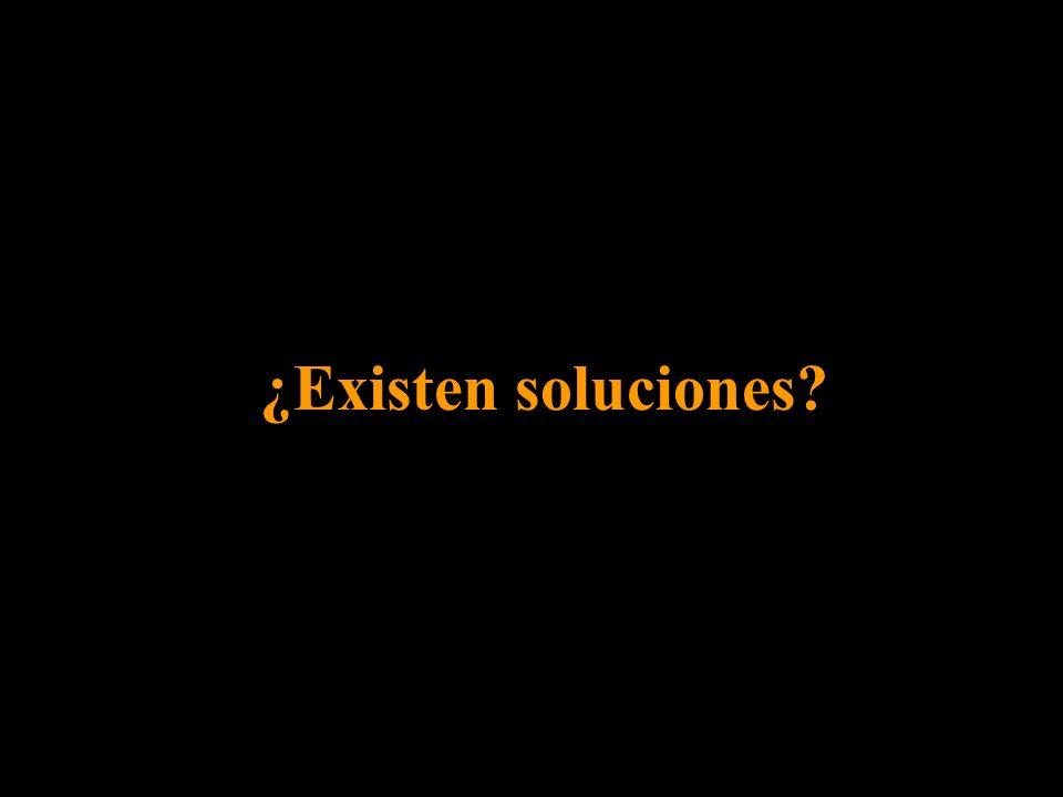 ¿Existen soluciones