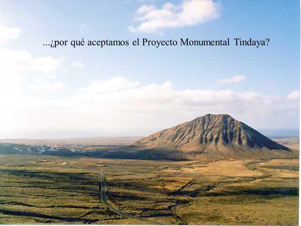 ...¿por qué aceptamos el Proyecto Monumental Tindaya