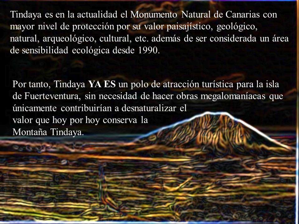 Tindaya es en la actualidad el Monumento Natural de Canarias con