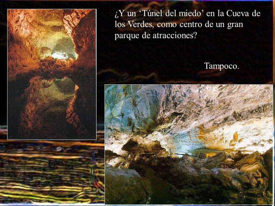 ¿Y un 'Túnel del miedo' en la Cueva de