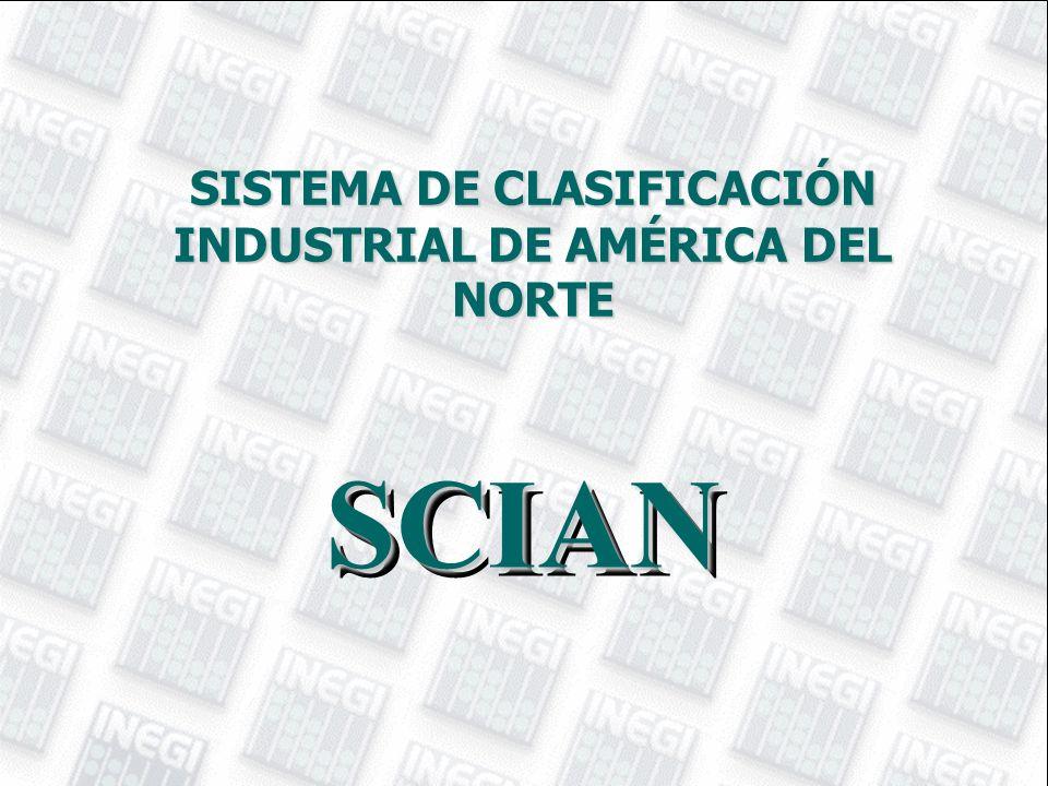 SISTEMA DE CLASIFICACIÓN INDUSTRIAL DE AMÉRICA DEL NORTE