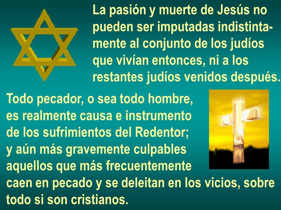 La pasión y muerte de Jesús no