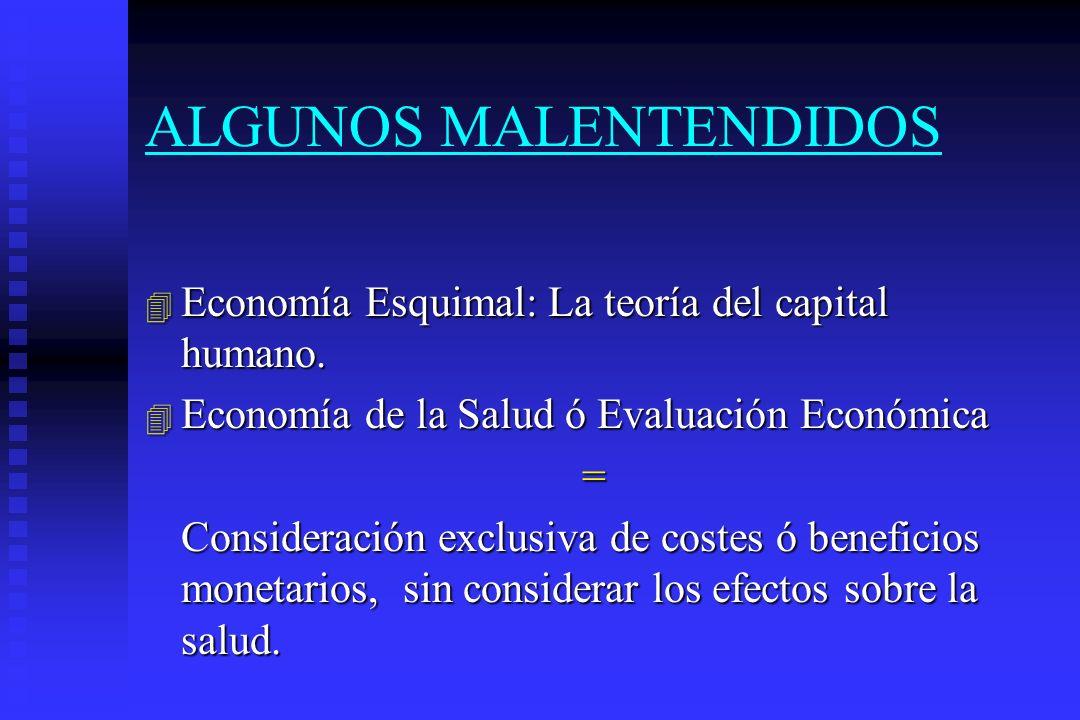 ALGUNOS MALENTENDIDOS
