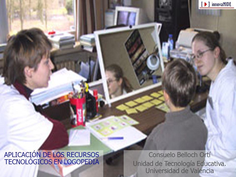 APLICACIÓN DE LOS RECURSOS TECNOLÓGICOS EN LOGOPEDIA