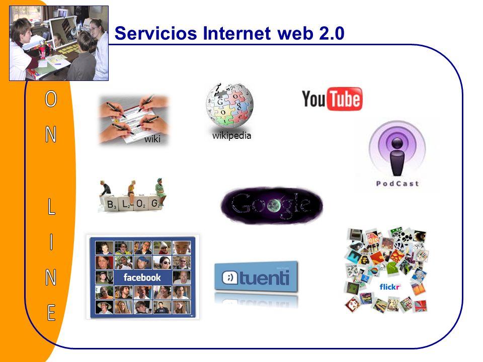 Servicios Internet web 2.0