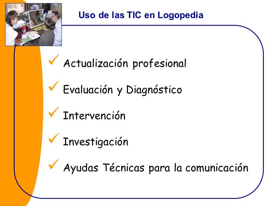 Actualización profesional Evaluación y Diagnóstico Intervención