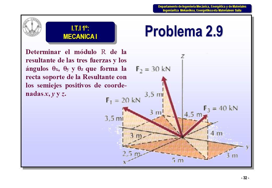Problema 2.9