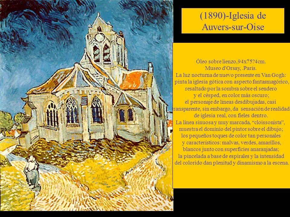 (1890)-Iglesia de Auvers-sur-Oise