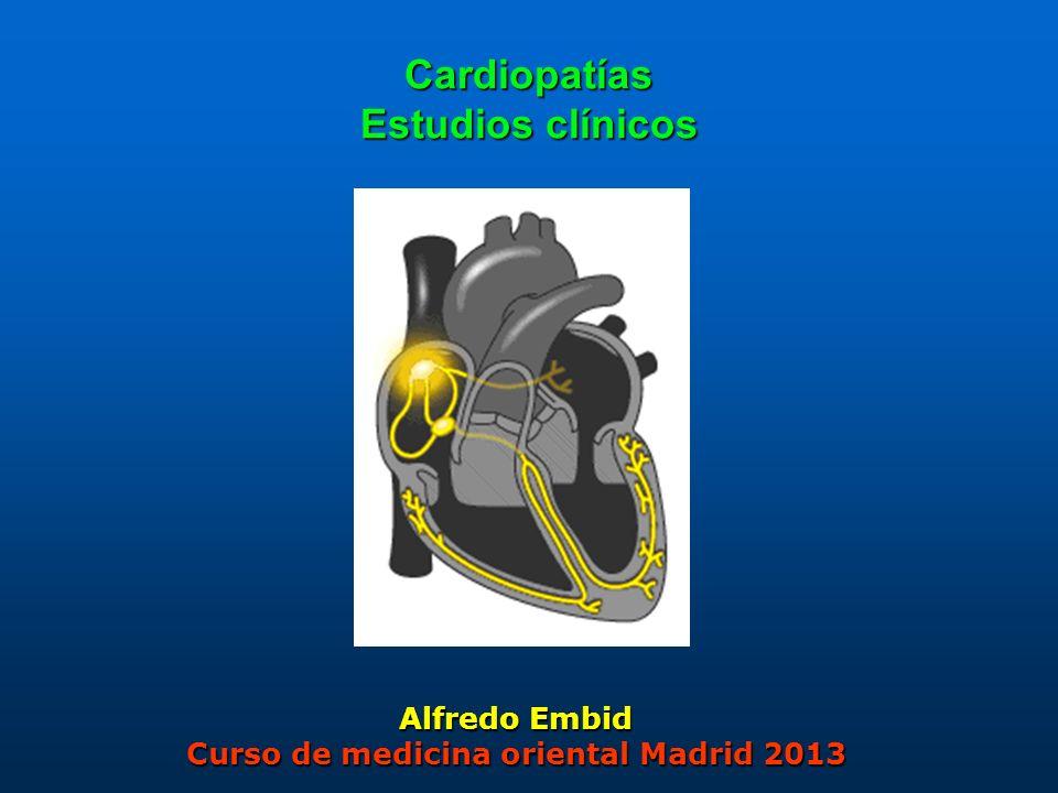 Cardiopatías Estudios clínicos