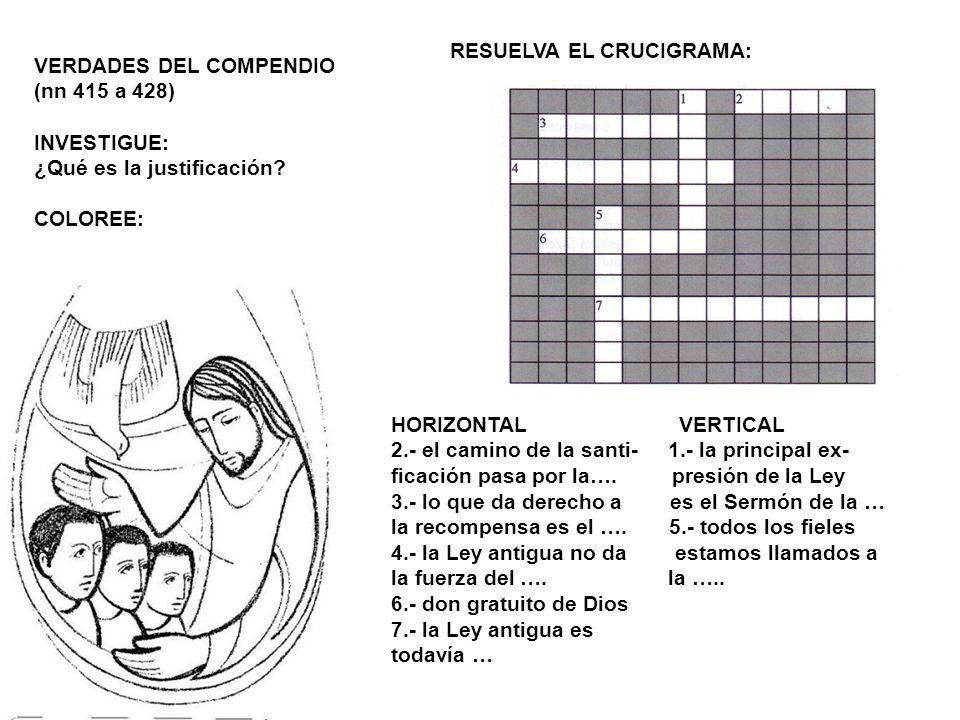 RESUELVA EL CRUCIGRAMA: