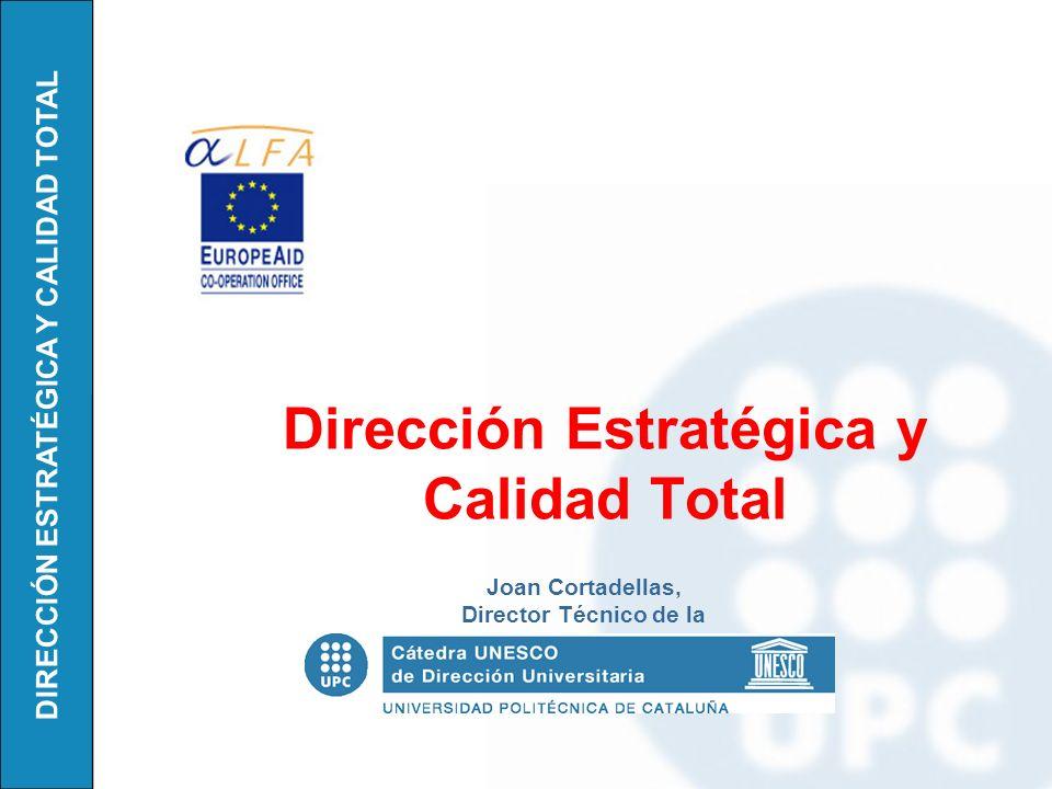 Dirección Estratégica y Calidad Total