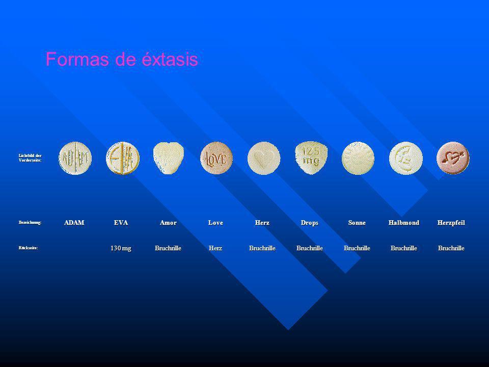 Formas de éxtasis ADAM EVA Amor Love Herz Drops Sonne Halbmond