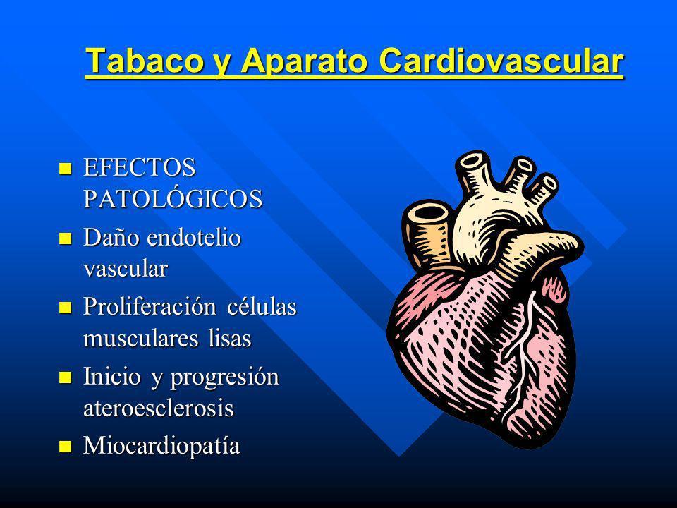 Tabaco y Aparato Cardiovascular