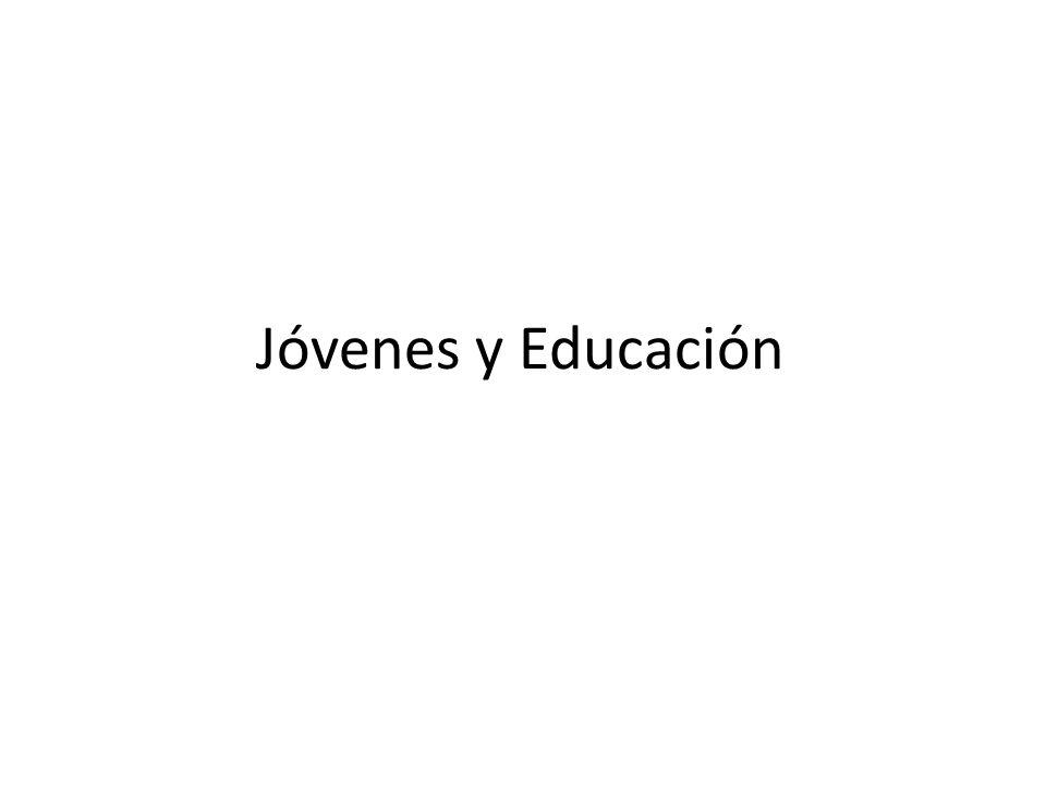 Jóvenes y Educación