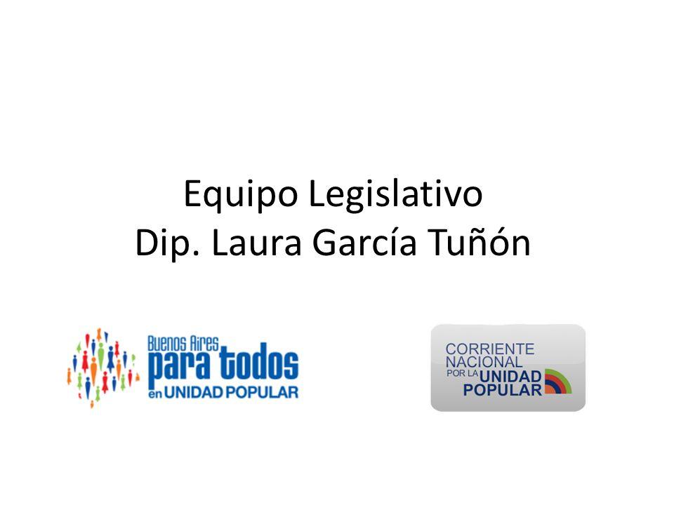 Equipo Legislativo Dip. Laura García Tuñón