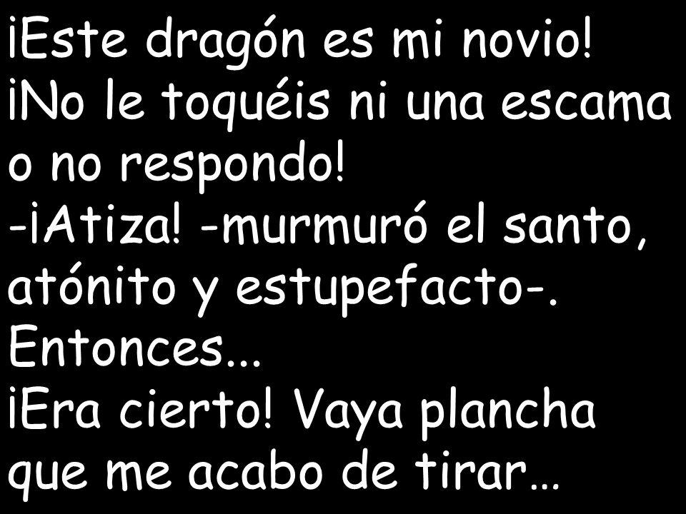 ¡Este dragón es mi novio!